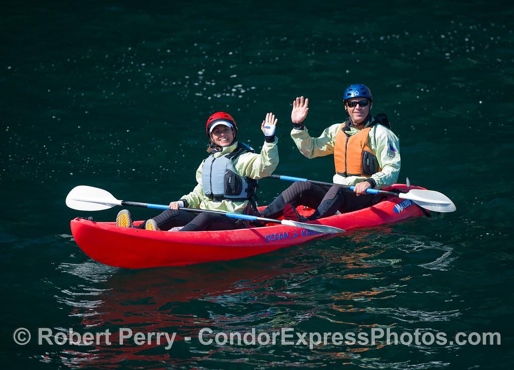 Kayaks 2011 05-01 Sta Cruz Island - 050