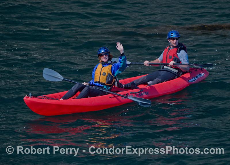 Kayaks 2011 05-01 Sta Cruz Island - 055