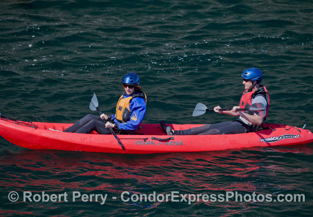 Kayaks 2011 05-01 Sta Cruz Island - 051