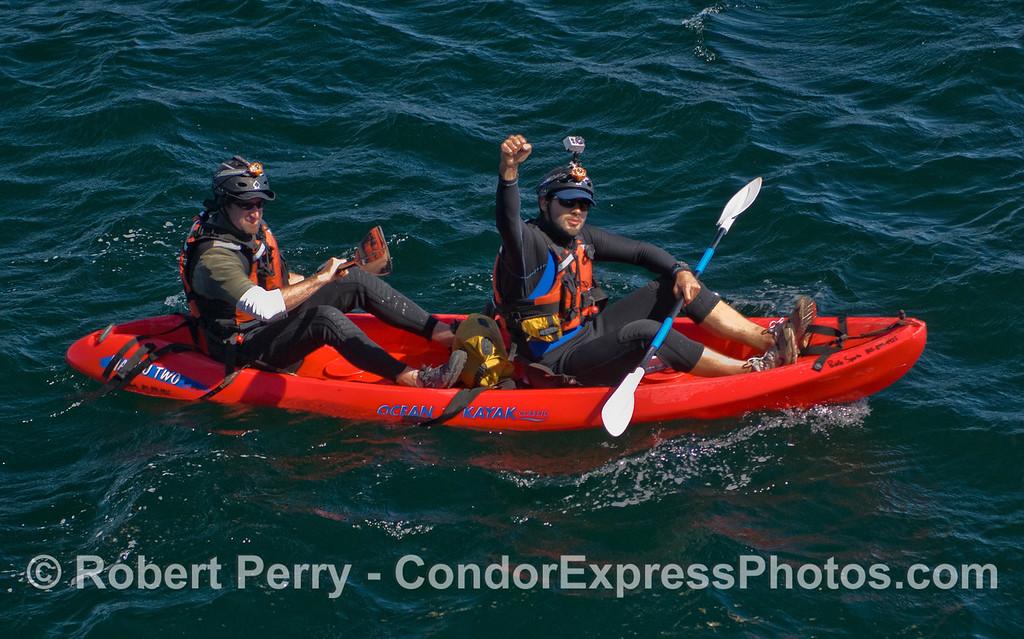 kayaks 2011 05-01 Sta Cruz Island b - 125