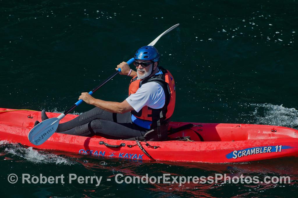 Kayaks 2011 05-01 Sta Cruz Island - 068