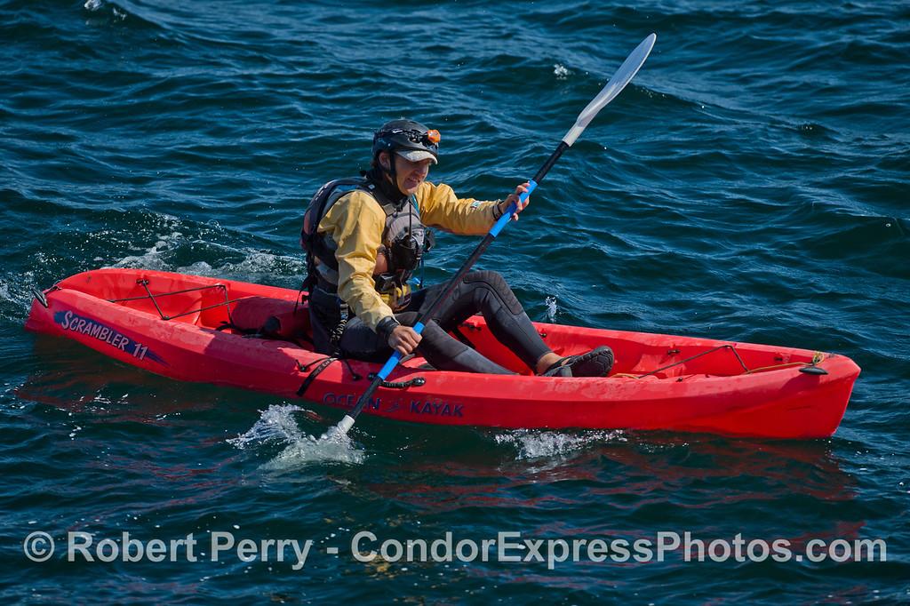 Kayaks 2011 05-01 Sta Cruz Island - 060