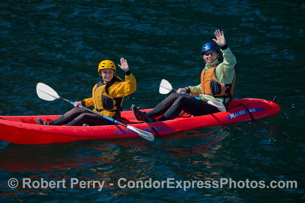 Kayaks 2011 05-01 Sta Cruz Island - 048