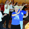 Over 40 tai chi enthusiasts took part in World Tai Chi Day. Citizen photo by David Mah May 2 2011