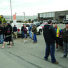 Finning Employees on the picket line at Finning in the BCR Industrial Site Thursday morning. Citizen photo by Brent Braaten        June 23 2011