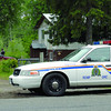 RCMP at a home on Chief Lake Road where a search warrent was executed Thursday morning. Citizen photo by Brent Braaten        June 23 2011