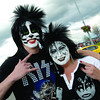 Jesse Colliss and his mom Mindy with KISS make-up outside of CN Centre prior to the KISS concert in Prince George. Citizen photo by Brent Braaten           June 29 2011