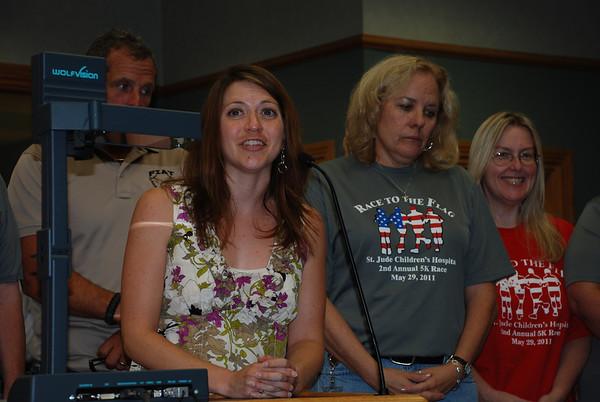 2011-07-18 Board Meeting
