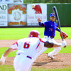 Chinese Taipei pitcher Chun Lin Kuo reacts to a hit by Japn's Masaya Iseki during their game Tuesday afternoon at Citizen Field at the World Baseball Challenge. Citizen photo by Brent Braaten     July 12 2011