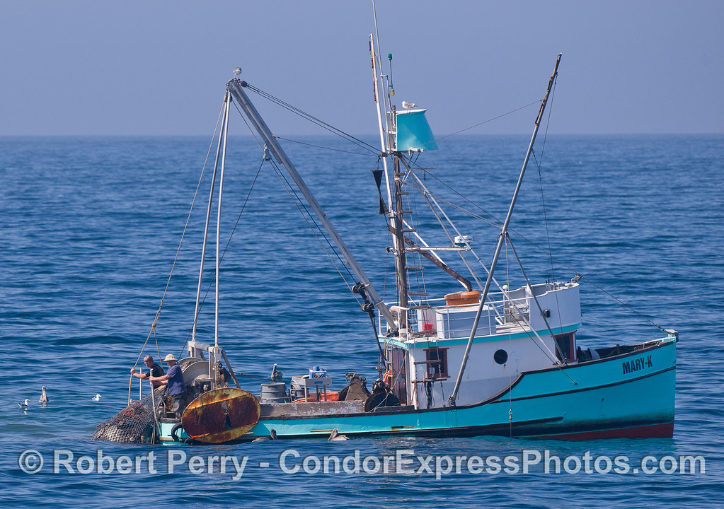 Commercial fishing trawler Mary K.