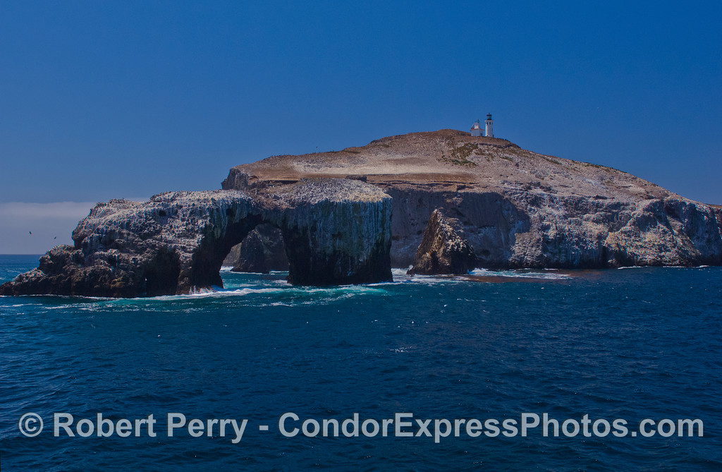 The east end of East Anacapa Island and the Arch.