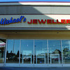Michael's Jewellers was entered at 5:23 AM Tuesday morning and robbed of over $10,000.00 in rings and bracelets. Sept 07. 2011 Citizen photo by David Mah