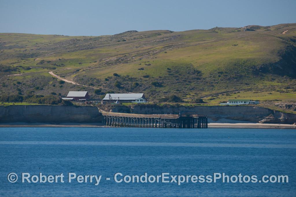 The Pier, Bechers Bay, Sta Rosa Island.