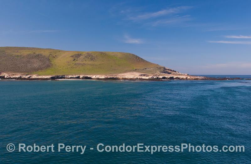 Carrington Point, Sta Rosa Island...looking west.