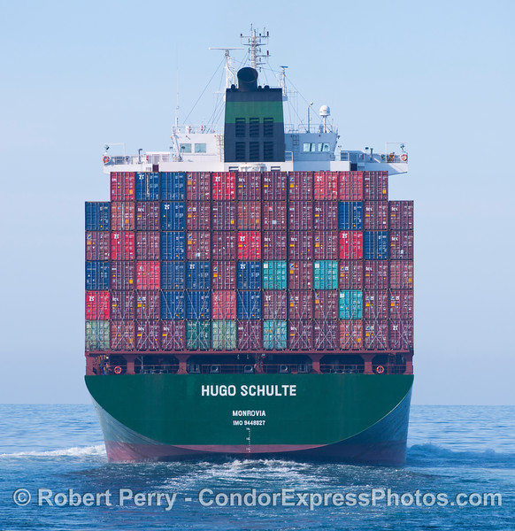 The container vessel Hugo Schulte.
