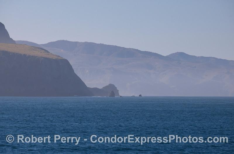 Sta Cruz Island - North side looking towards Chinese Harbor.