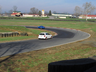 Civic Si in the hair-in turn 5