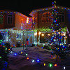 Well lit house at Goheen Place and Goheen Crescent. Dec. 12. 2011 Citizen photo by David Mah