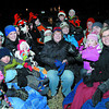 Ten families gathered together in Beverly and had a tradition hay wagon ride Friday evening on West Beverly Road. Citizen photo by Brent Braaten   Dec 23 2011