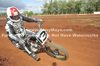 2011 AHRMA flat track race at Beaver Creek Raceway