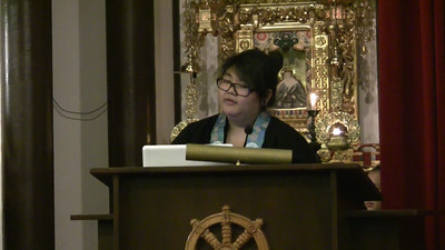 Miharu Okamura Dharma Talk pt 4 of 4 at 2011 Advanced Training