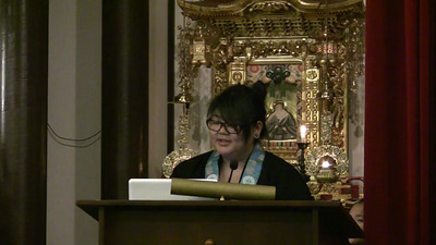 Miharu Okamura Dharma Talk pt 2 of 4 at 2011 Advanced Training