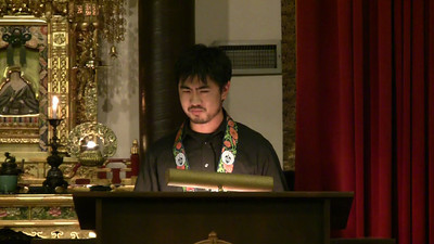 David Chin Dharma Talk at 2011 Advanced Training