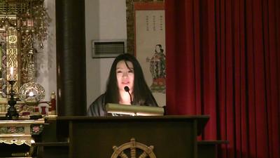 Krista Nakano Dharma Talk pt 1 of 2 at 2011 Advanced Training