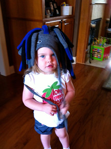 Silly hat day at Bizzy Bunch