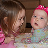 """Anna wanted to spread her blanket out on the floor to """"talk"""" to Ellen this morning"""