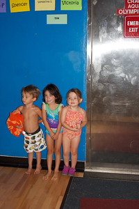 Getting ready for the last day at swim lessons!