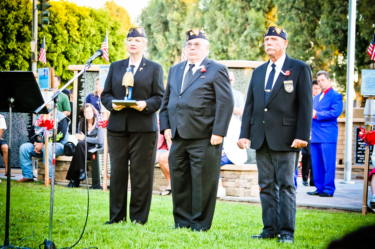 Representatives of the Fleet Reserve Association Branch OC 175 performed the traditional bell ceremony in honor of the fallen of all branches.