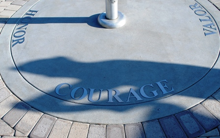 Courage, Honor, Valor, and Sacrifice. Words they lived by.