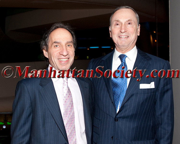 Andrew Rosenberg, Dean Robert I. Grossman, MD attend 2011 NYU Hospital for Joint Diseases (HJD) Founders Gala on Tuesday, November 1st, at The American Museum of Natural History Rose Center for Earth and Space, 81st Street between Central Park West and Columbus Avenue, Manhattan, New York City, NY. PHOTO CREDIT: ©Manhattan Society.com/Christopher London