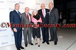 Dean Robert I. Grossman,MD,  Frank A. Olson, Sara Jean Blakely Olson, Ken Langone, Gary Cohn  attend 2011 NYU Hospital for Joint Diseases (HJD) Founders Gala on Tuesday, November 1st, at The American Museum of Natural History Rose Center for Earth and Space, 81st Street between Central Park West and Columbus Avenue, Manhattan, New York City, NY. PHOTO CREDIT: ©Manhattan Society.com/Christopher London