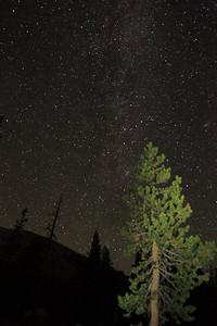 The Milky Way over Tuolumne.