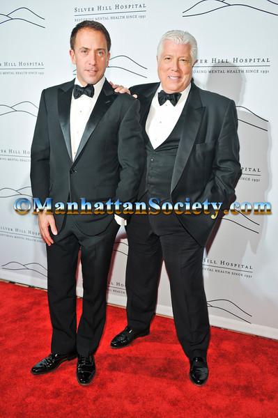 Michael Cominotto, Dennis Basso attend 2011 Silver Hill Hospital Gala on Thursday, November 3rd at Cipriani 42nd Street, New York City, NY  PHOTO CREDIT: ©Manhattan Society.com/Joe Corrigan