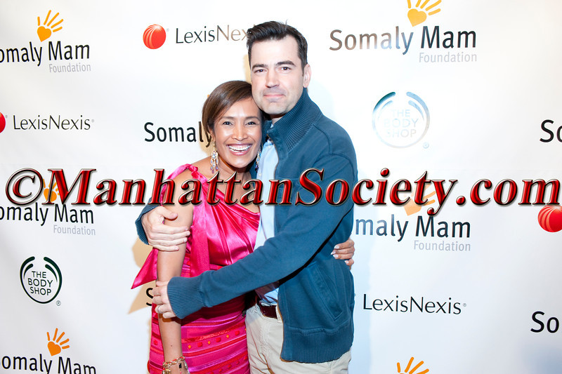 Somaly Mam, Ron Livingston attend 2011 Somaly Mam Foundation East Coast Gala on Thursday, October 20, 2011 at Espace, 635 West 42nd Street, New York City, NY.  PHOTO CREDIT: ©Manhattan Society.com/Christopher London