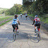 Heading towards Drum Canyon, Su Chang and Donn Viviani
