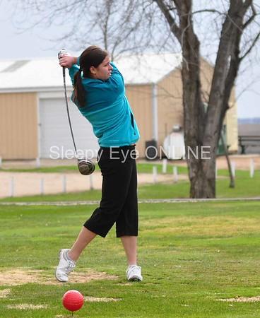 20110425 Sleepy Eye & St. Mary's Girls Golf