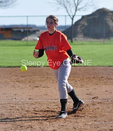 20110428 Sleepy Eye Jr. High Softball
