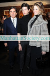 NEW YORK-JANUARY 20: Peter Brant, Peter Brant, Jr., Stephanie Seymour   attend 57th Annual Winter Antiques Show Opening Night Party on Thursday, January 20, 2011 at The Park Avenue Armory, Park Avenue at 67th Street, New York City (PHOTO CREDIT: ©Manhattan Society.com 2011 by Christopher London)