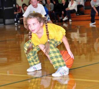 20110128 St. Mary's Elementary Boys Basketball Performance