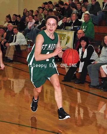 20110203 St. Mary's Girls Basketball
