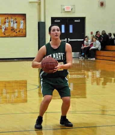 20111216 St. Mary's Girls Basketball