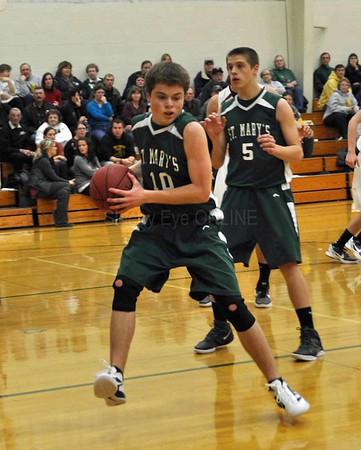 20111222 St. Mary's Boys Basketball
