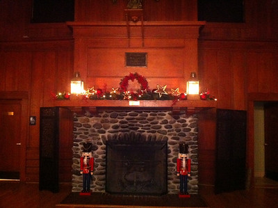 From Linda Abrahm: Decorations up, 2011
