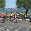 First ride of the camp in Solvang - drills!