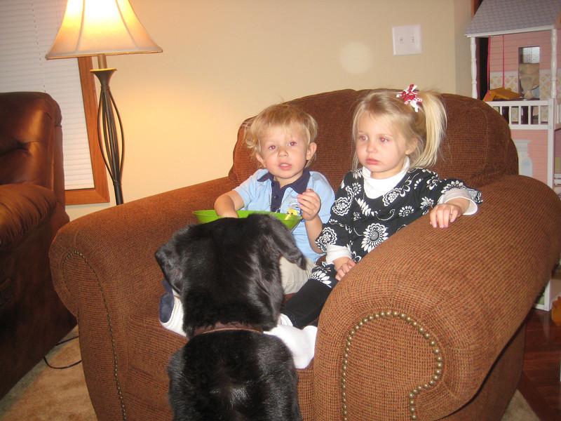 Happy New Year!  Boone, Brooke & Heidi