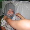 Judah in underwear